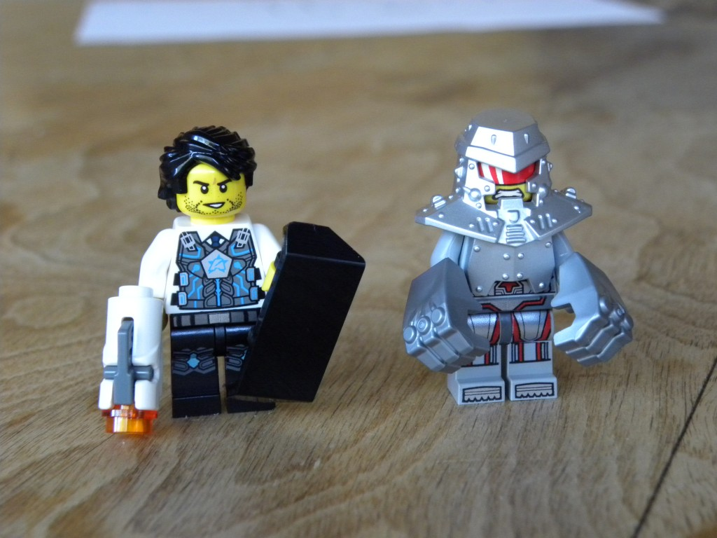 Lego Ultra Agents Jack Fury Agent Jack Fury Isn't Terribly