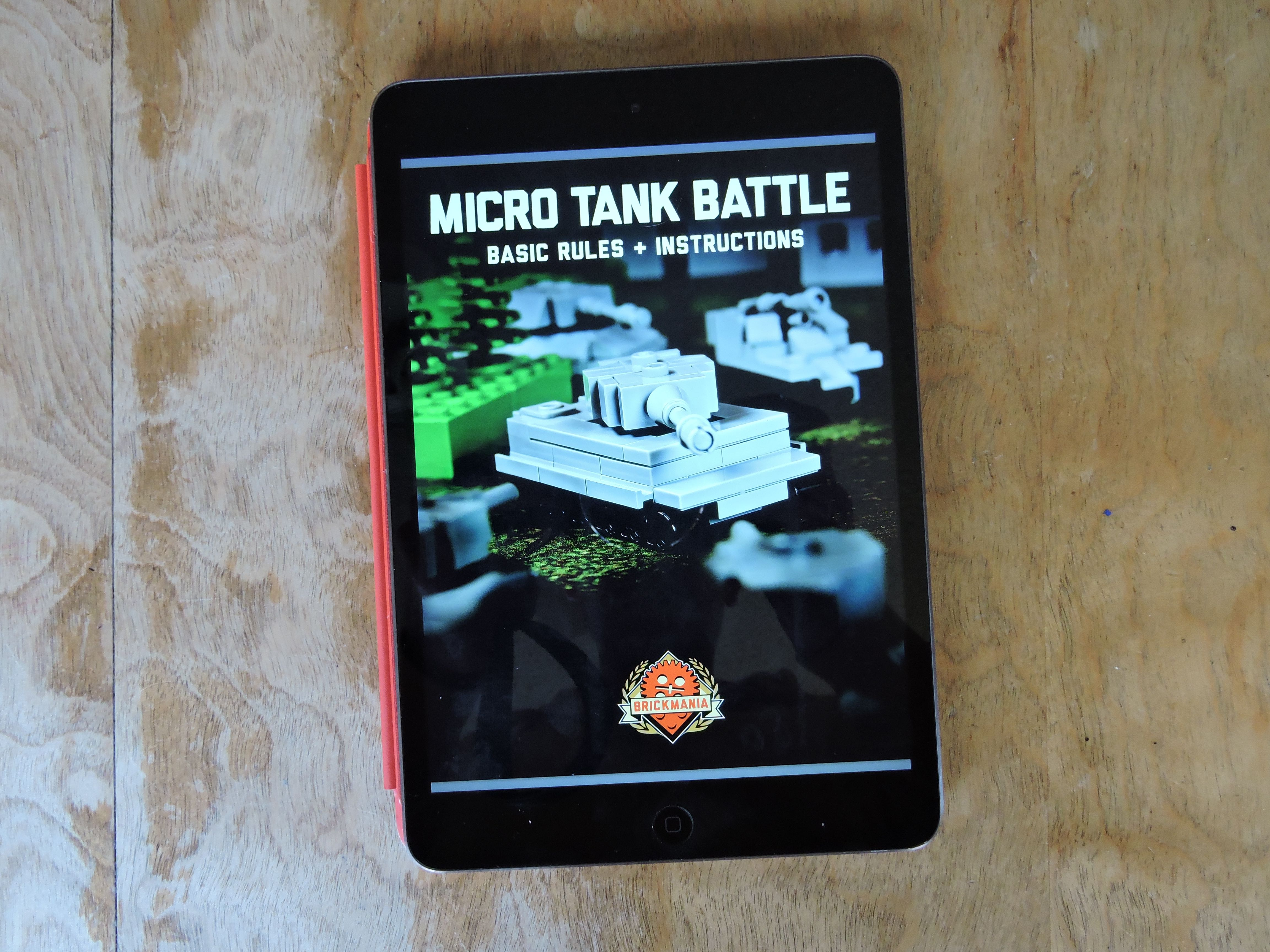 Micro Tank Battles | Little Brick Root